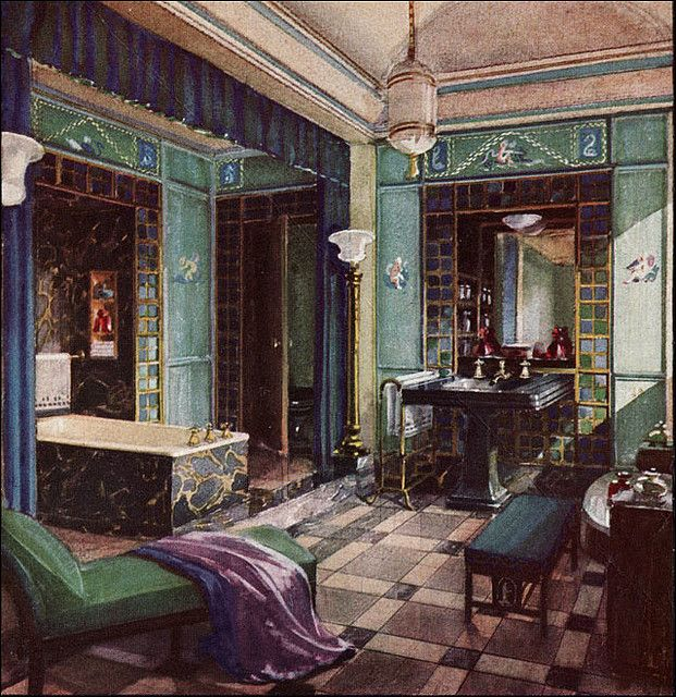 1929 Opulent Crane Bathroom In 2020