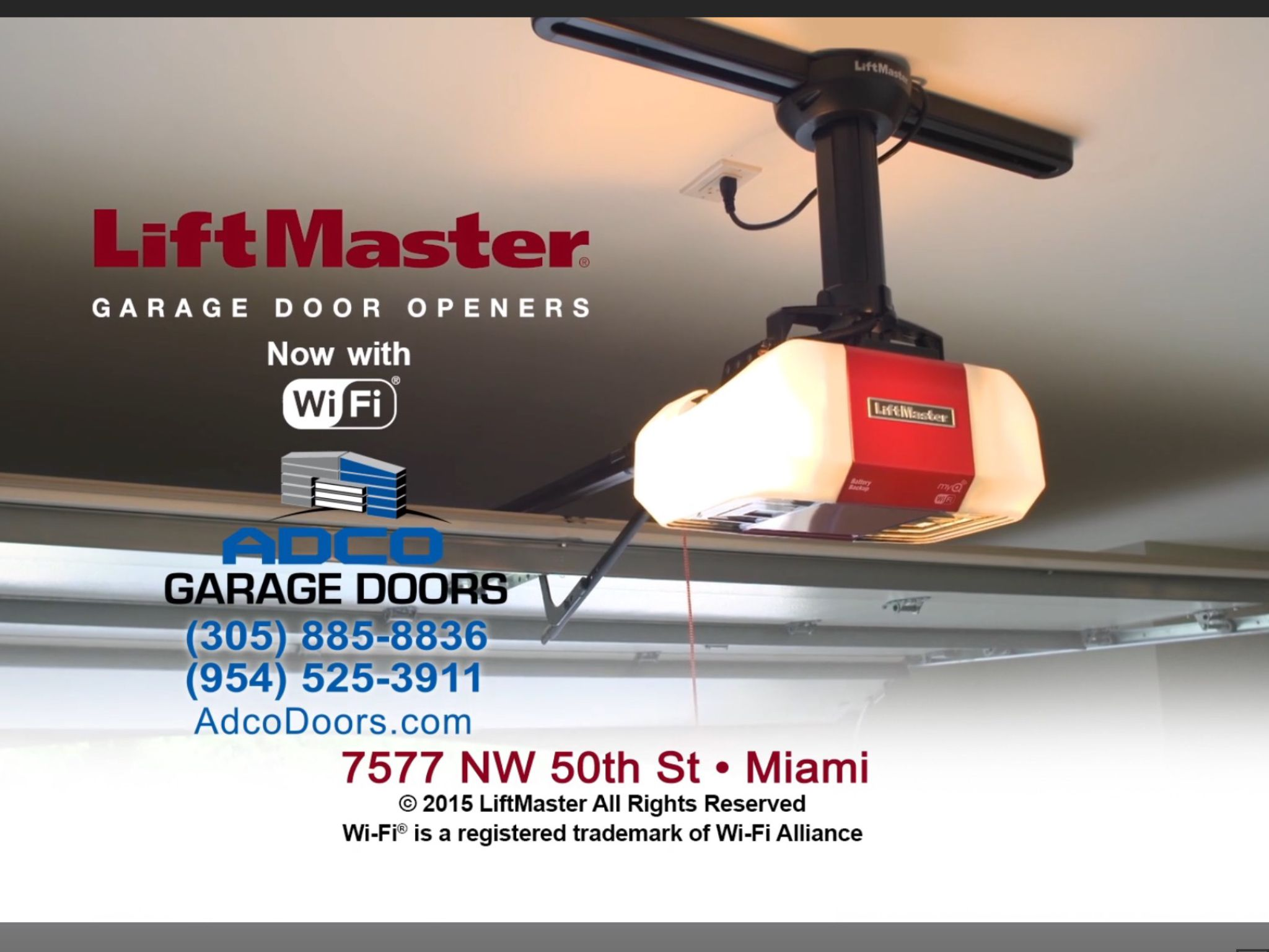Liftmaster Garage Door Openers Now With Wifi Liftmaster Garage Door Garage Door Opener Liftmaster