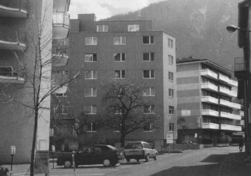 Wohnhaus Brig, Peter Märkli
