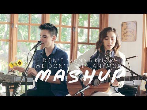 Don\'t Wanna Know/We Don\'t Talk Anymore MASHUP - Sam Tsui & Alex G ...