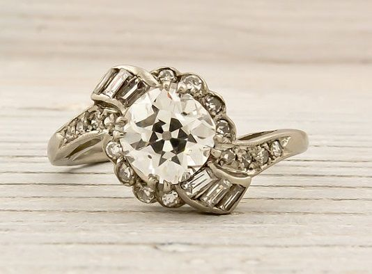 vintage engagement rings 1800s Google Search Rings Pinterest