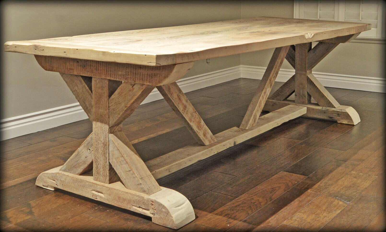 Inspired By Our Time In Spain This Piece Is Handcrafted Of Solid Wood Made To Give That Old World Feel Where Families Gathere Dining Table Rustic Table Table