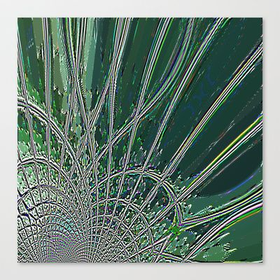 Re-Created Web of Lies18 #Stretched #Canvas by #Robert #S. #Lee - $85.00