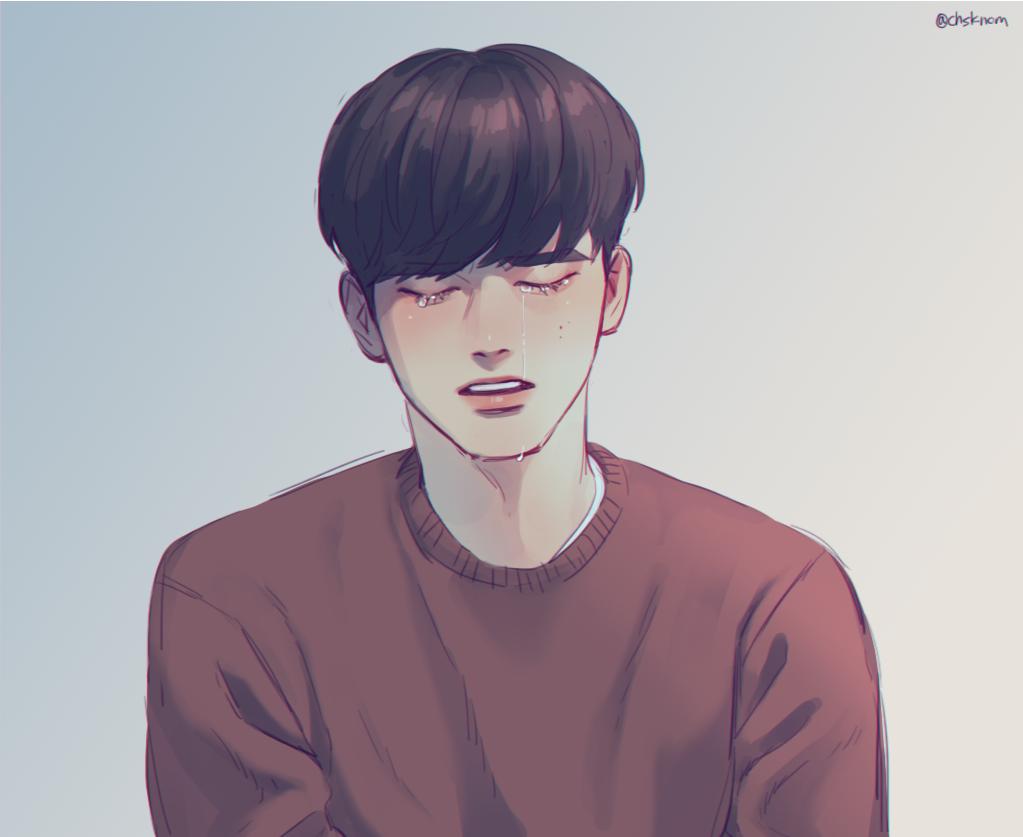 Pin Oleh C H O E R I A H Di Ong Seongwoo Sketsa