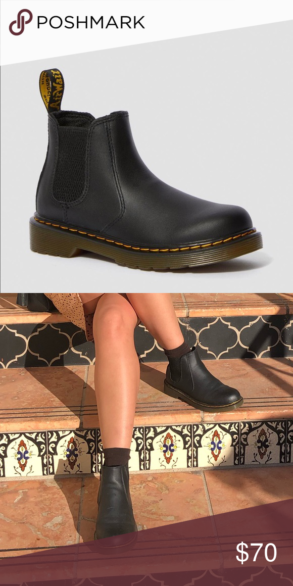 dr martens chelsea boots youth Dr