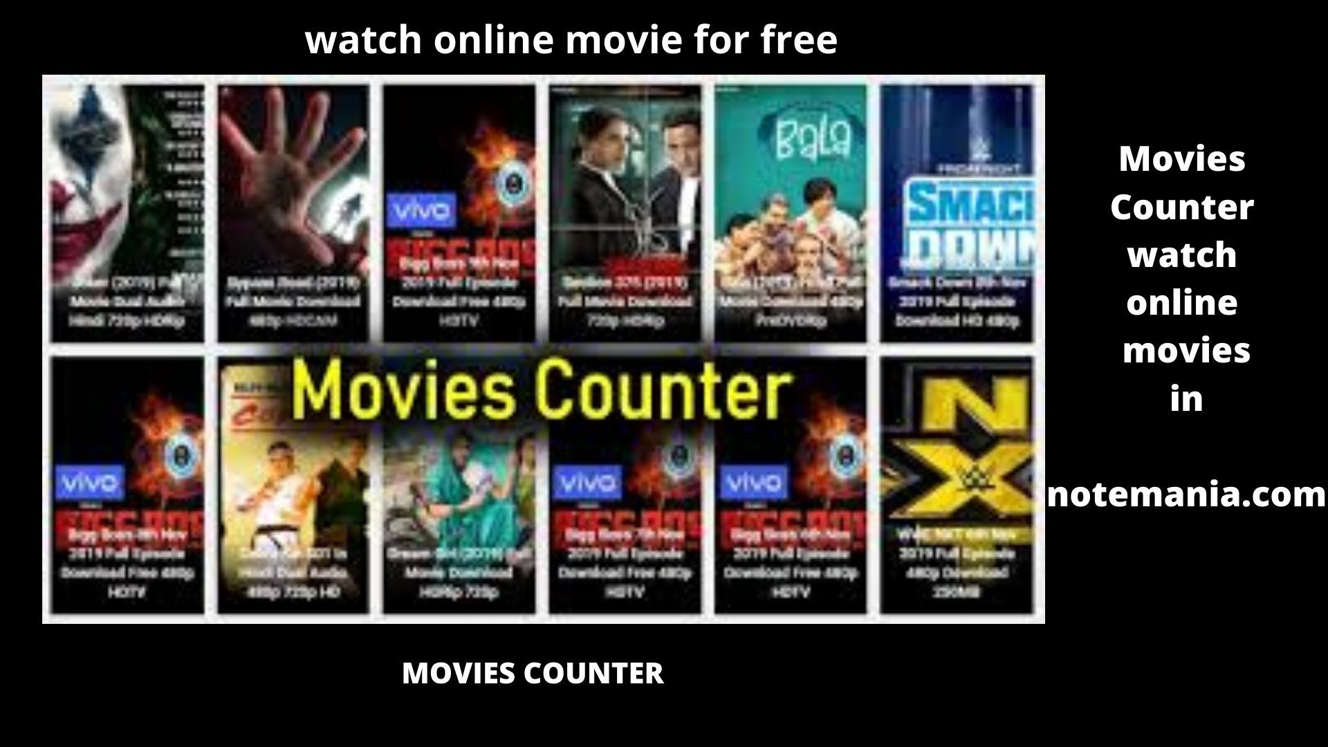 Moviescounter 2020 Bollywood Hindi Movies Whatch in HD