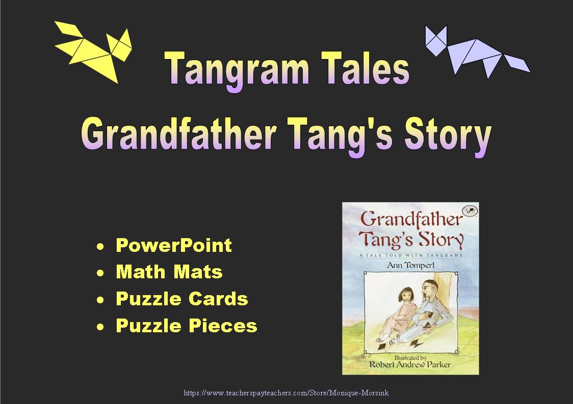 Tangram Tales Grandfather Tang S Story