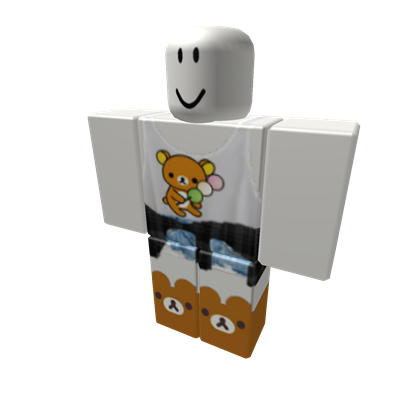 Bear Shirt W Cute Bear Slippers Roblox Roblox Pinterest