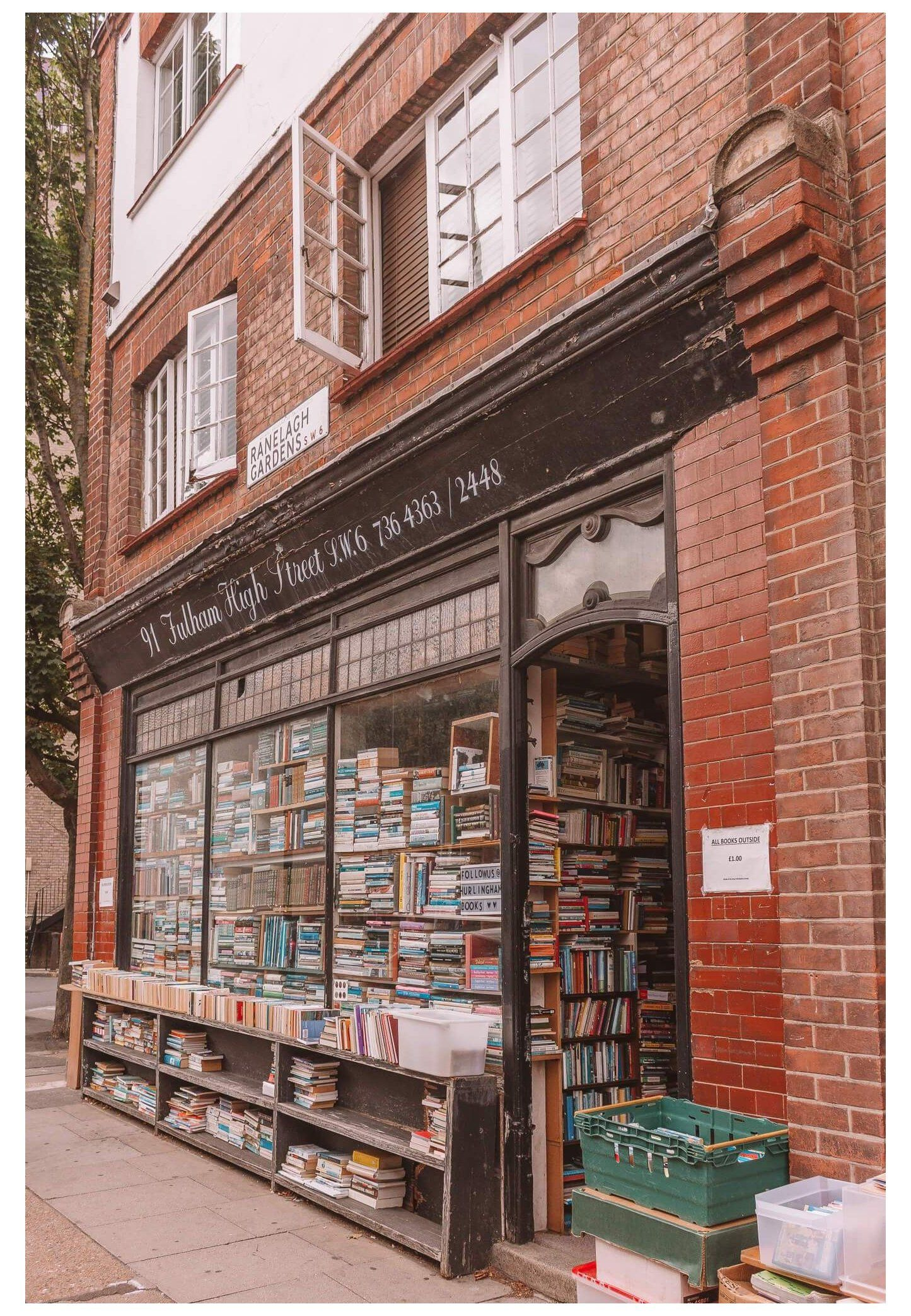 15 Most Beautiful Independent Bookshops In London Old Book Store Aesthetic There Are Many Opportunities For Book Shopping I Bookshop Bookstore Architecture