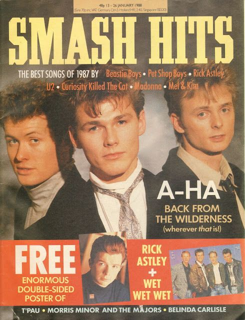 Top Of The Pops 80s Aha Smash Hits 1988 Childhood Books