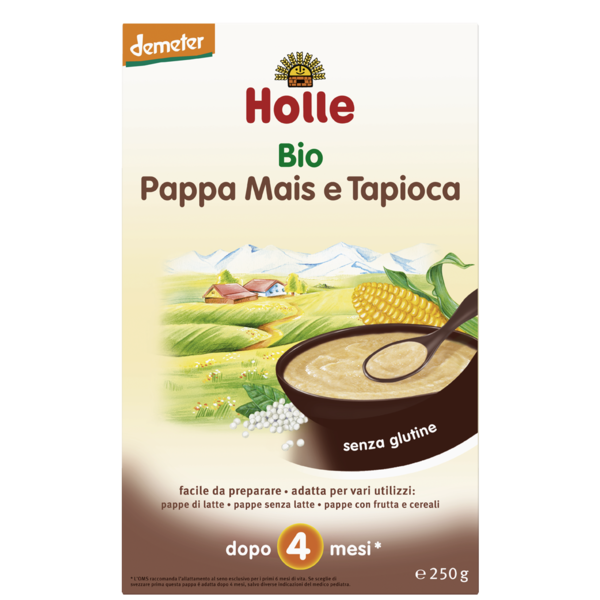-in USA- Holle ORGANIC Tapioca Porridge Meal for babies from the 4th month