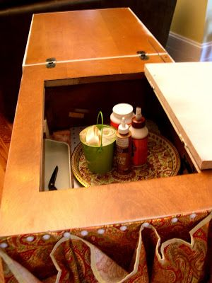 Craft Closet and Rolling Craft Cart - Home Stories A to Z