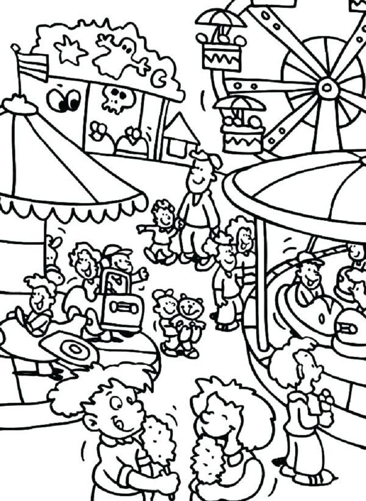 carnival coloring pages Carnival Coloring Pages to Print | Coloring Pages Ideas  carnival coloring pages