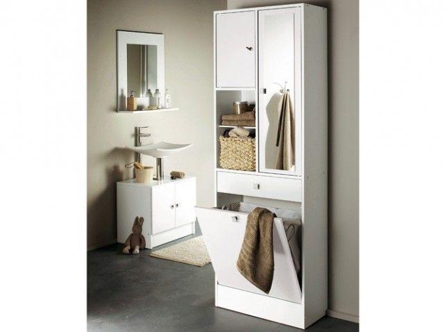 Salle de bain colonne de rangement salle de bains for Colonne salle de bain