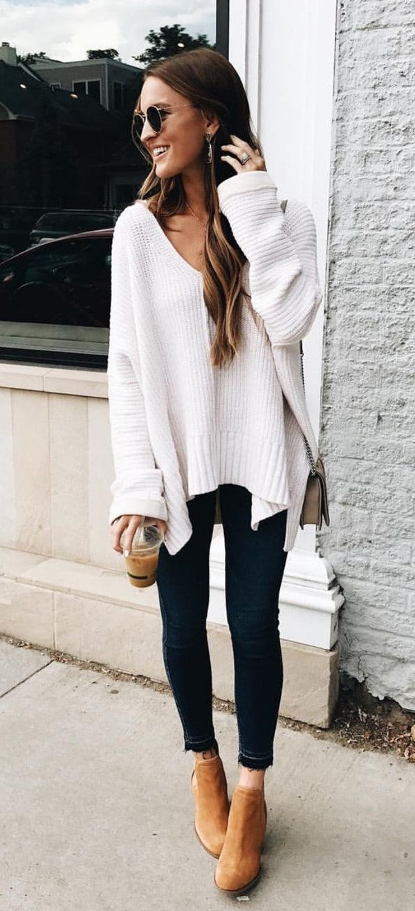 Casual Women ootd for fall exclusive photo