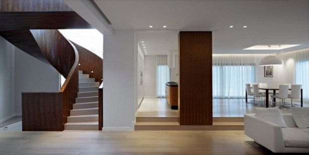 Staircase design modern houses by houzz photos decosee house interior and interiors also rh pinterest