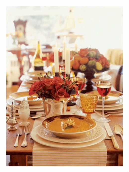 Martha Stewart Thanksgiving Table Decorations | Martha Stewart ...
