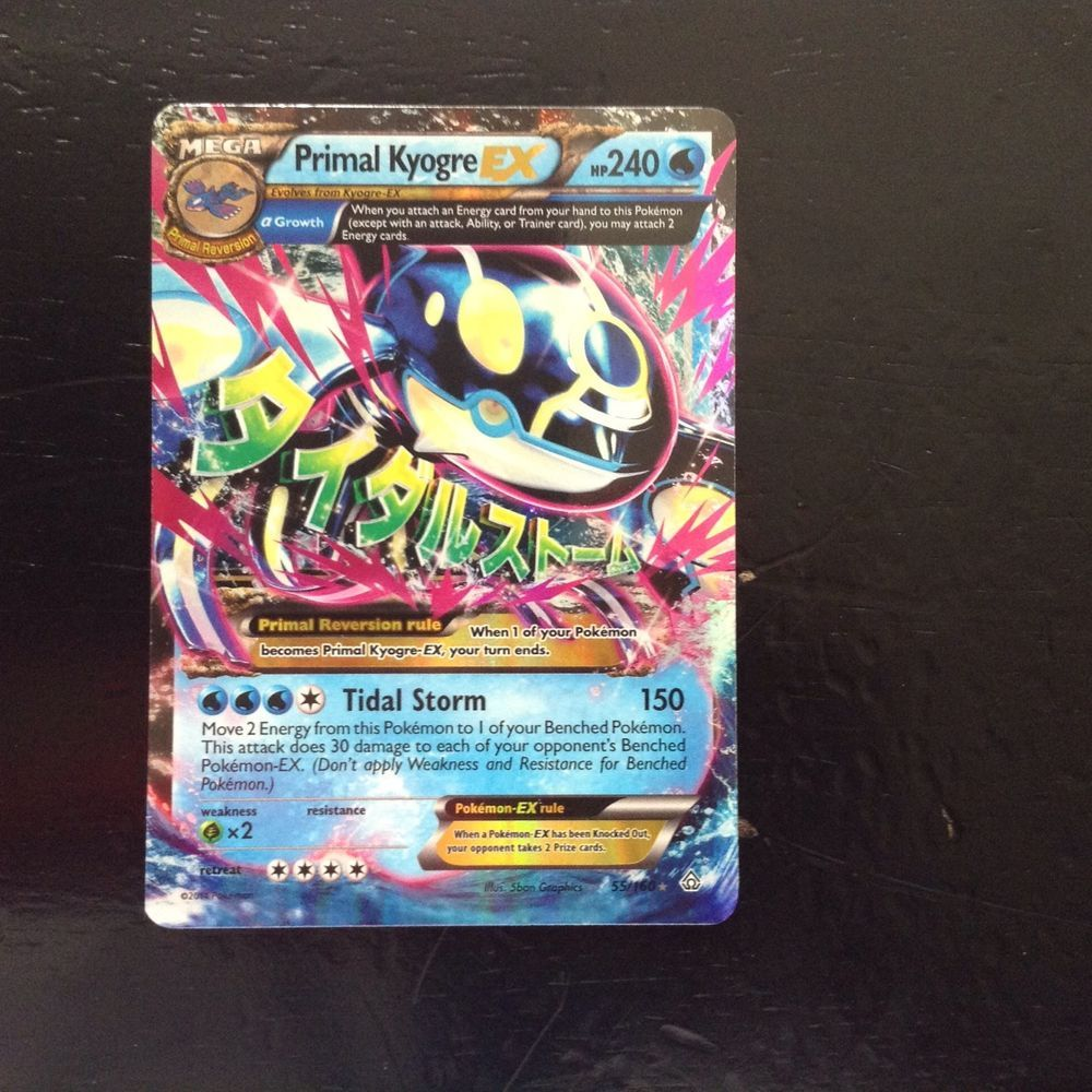 PL Pokemon UMBREON EX Card FATES COLLIDE Set 55//124 XY X and Y Ultra Rare PLAYED