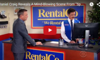 """Daniel Craig Reveals A Mind-Blowing Scene From """"Spectre"""" Have you guys seen the movie yet? We haven't. But we don't need to, to know that James Bond always wreck every car he's ever given, which leads Stephen Colbert to ask, why would anyone want to give James Bond another car? ..."""