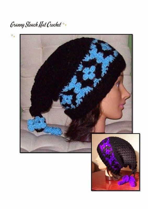 Granny Sloutch Hat  1449e9ec0d5