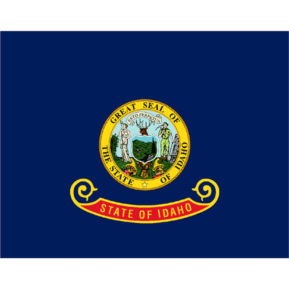 Showcase Your Love Of The Gem State With This Idaho State Flag