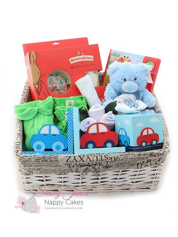 ddabb4dfe Extra Large Baby Gift Basket Boy (Pre Assembled)