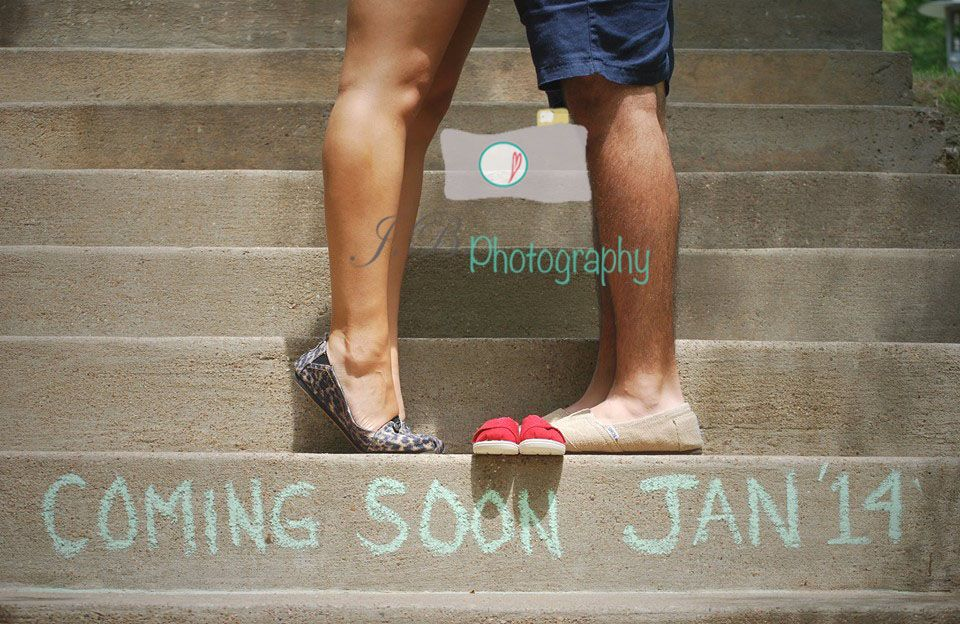 Portrait photographed by Jessica Bonilla baby announcement – Coming Soon Baby Announcements