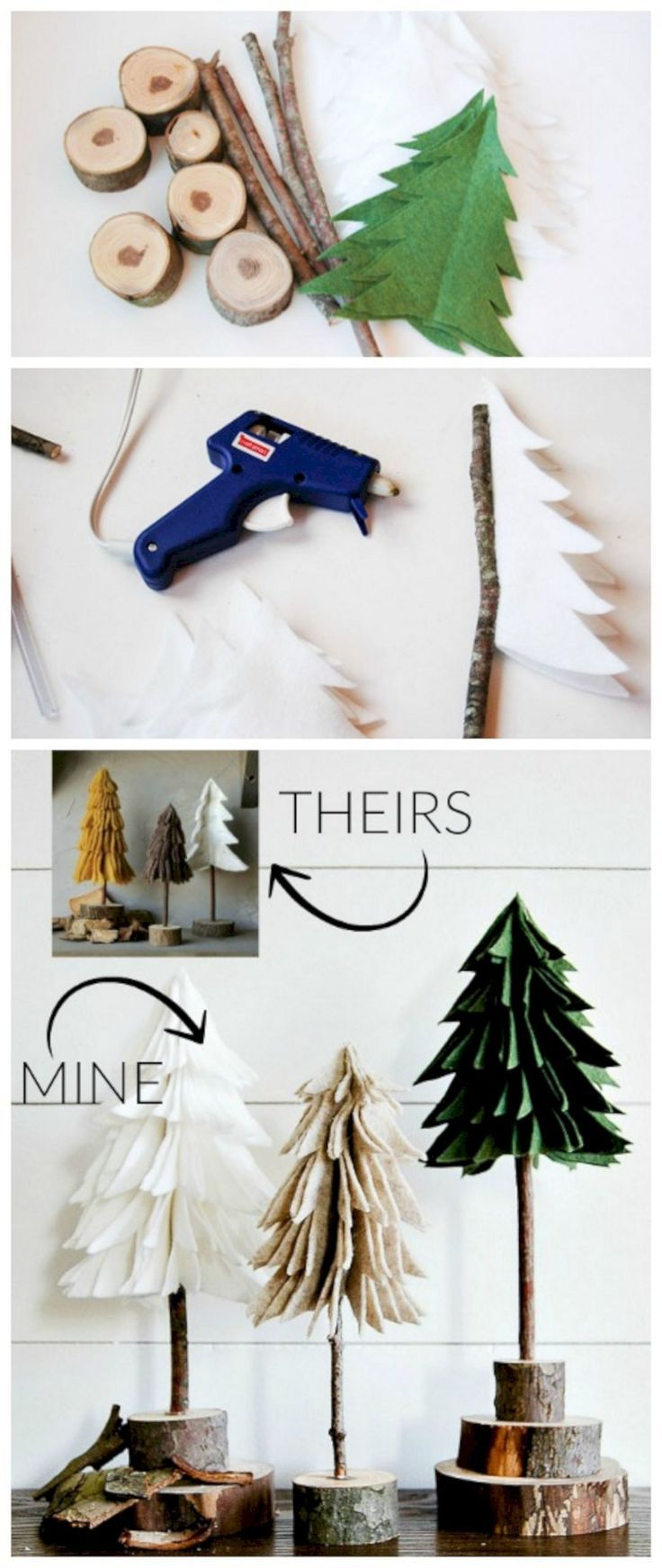 30 Easy Diy Christmas Crafts Ideas For Your Kids Https Montenr Com 30 Easy Diy Christmas Crafts Idea Easy Christmas Diy Christmas Crafts Felt Christmas Tree