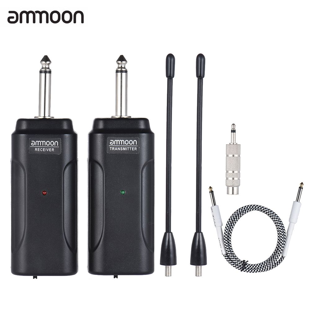 ammoon Portable Wireless Audio Transmitter Receiver System for ...