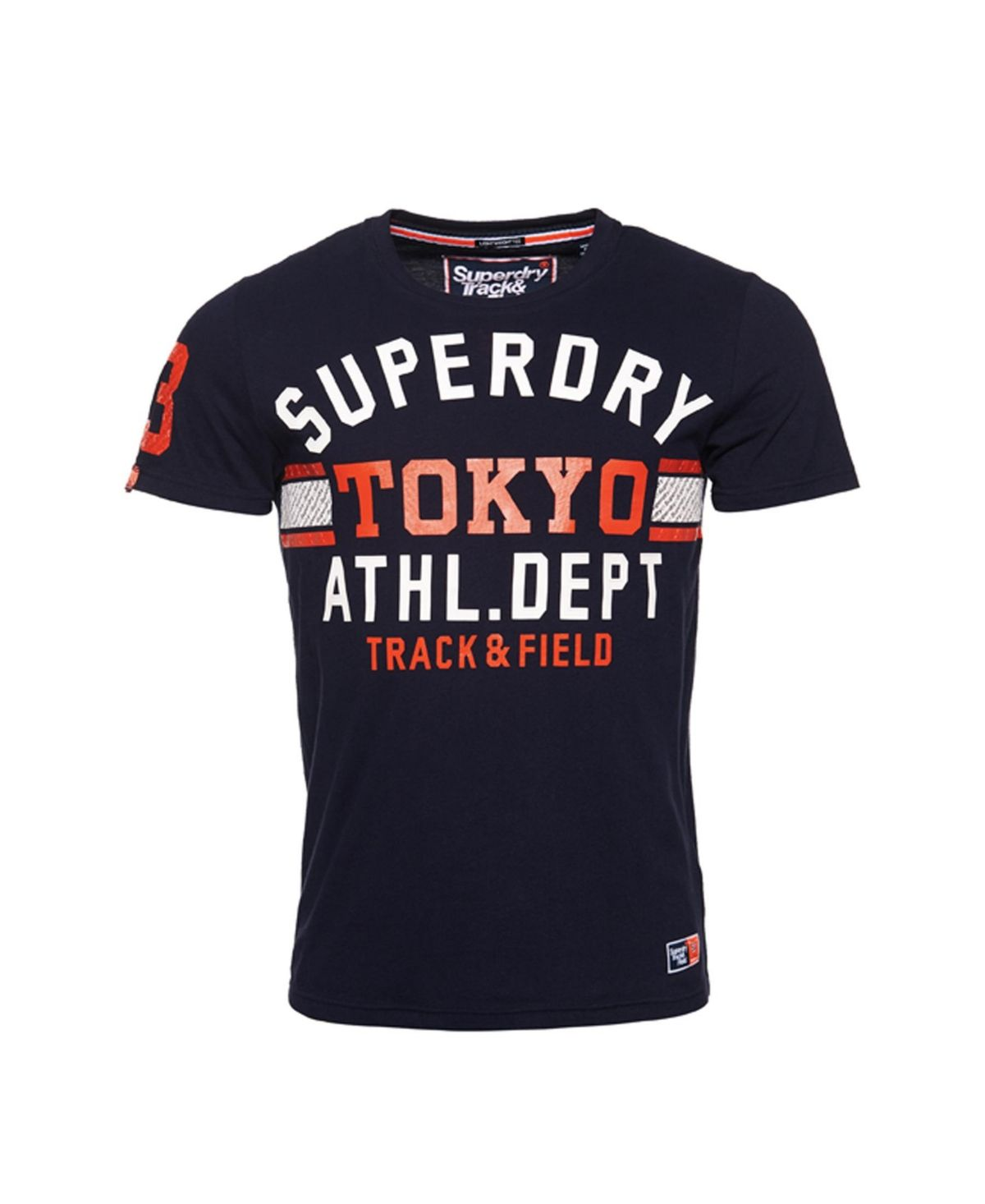 Superdry Track /& Field Lite Tri T-Shirt