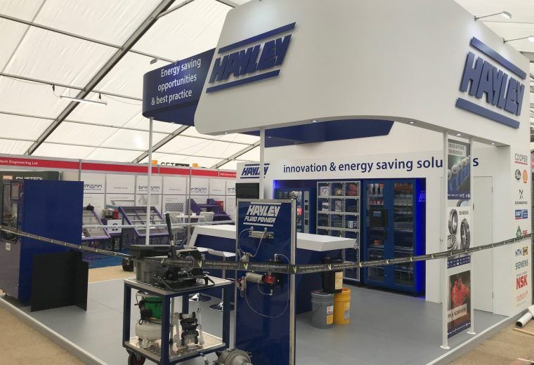 Exhibition Stand Design Best Practice : Exhibition stand design and build for hayley group at hillhead