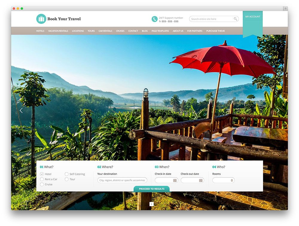 book your travel template WebsiteUI Pinterest Travel themes