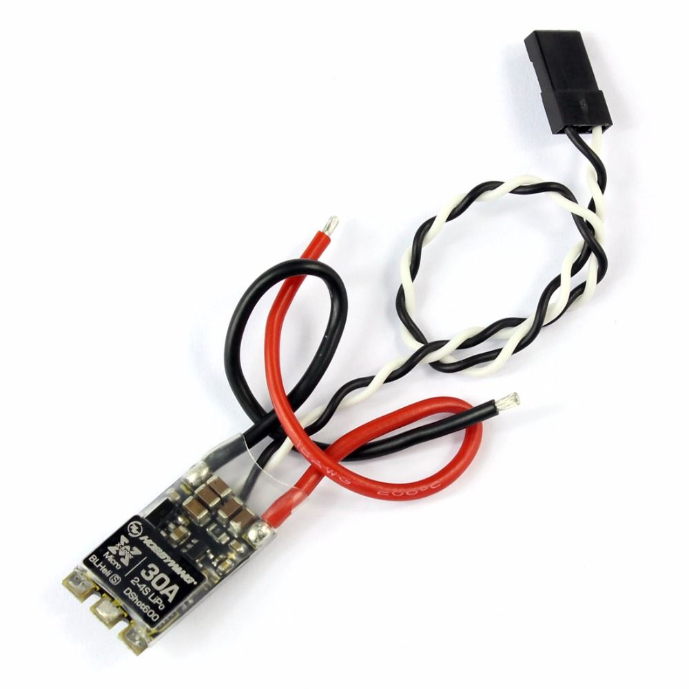 Xrotor Blheli S 30a Esc Dshot600 Mini Brushless Speed Controller Motor Rc For Quadcopter Airplane Support Pwm 2