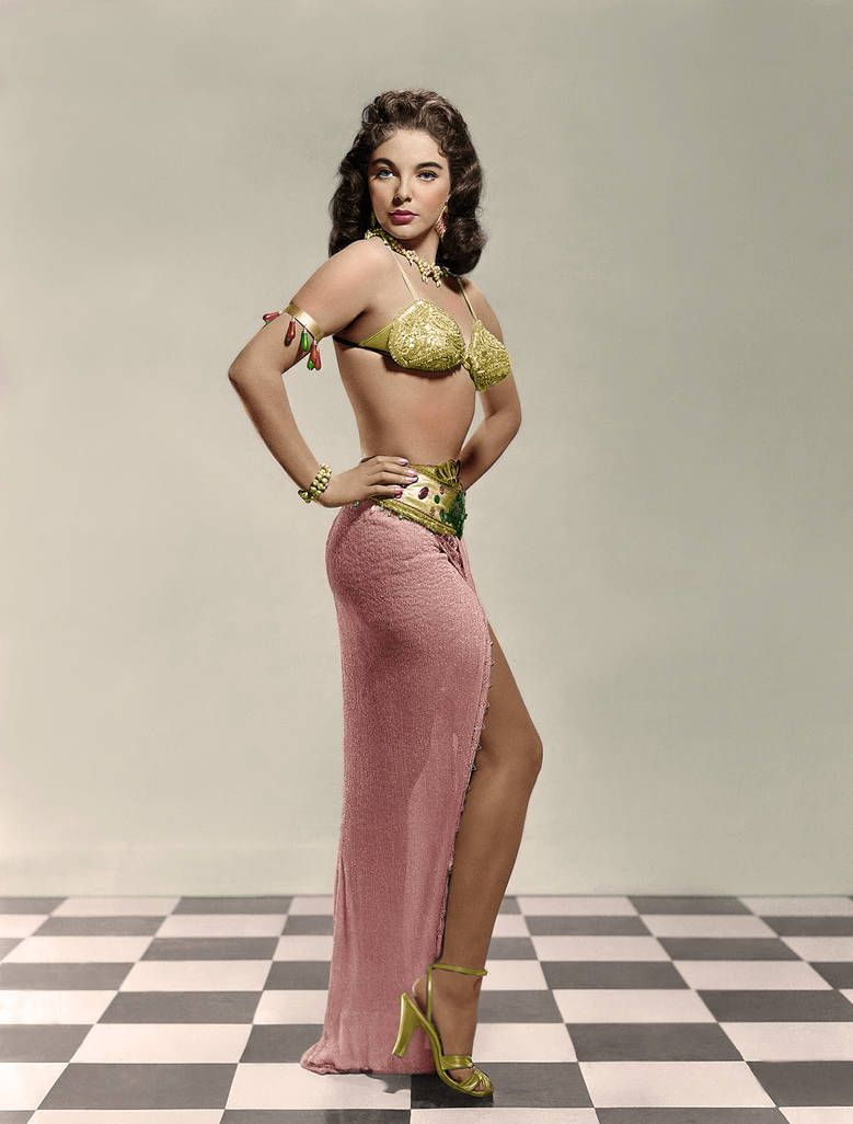 Collins Joan (Land of the Pharoahs) by Calpin69 on DeviantArt #classicactresses
