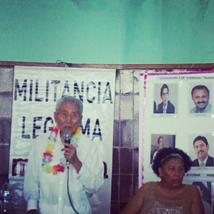 Escuchando a nuestro luchador social; Dr. Pablo Sandoval.