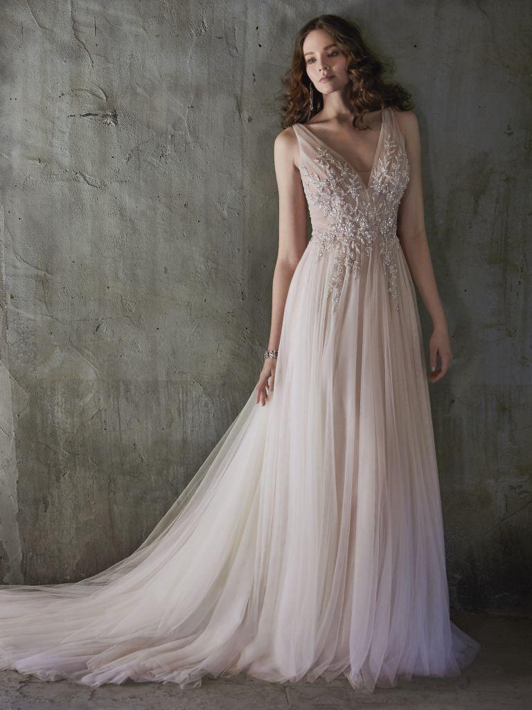 Maggie Sottero Meletta #grecianweddingdresses