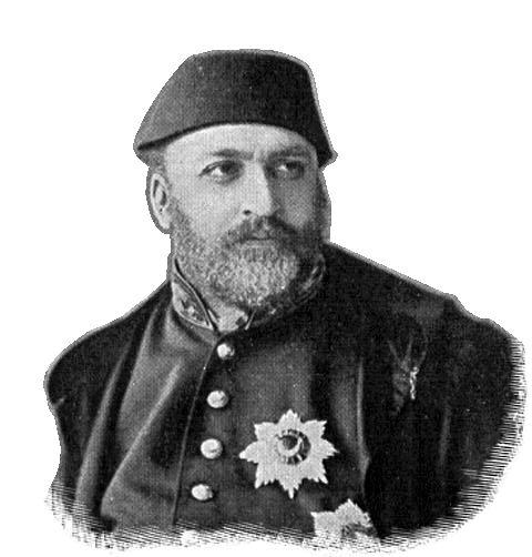 Abdül Aziz, Sultan of the Ottoman Empire (1861-1876).