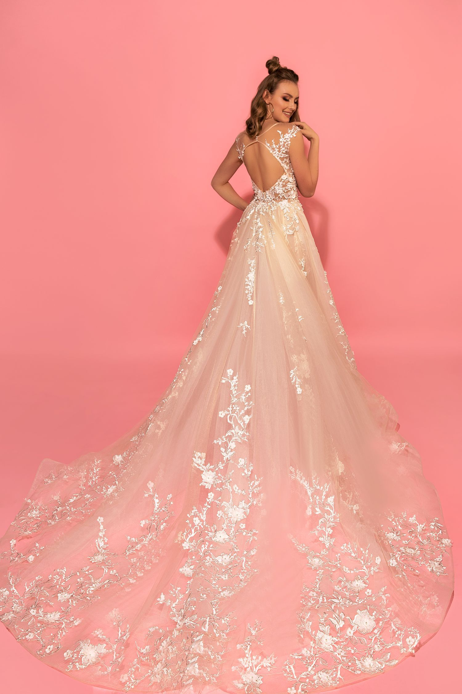 Hizer wedding dress. Eva Lendel Pink Collection | Wedding Dresses ...