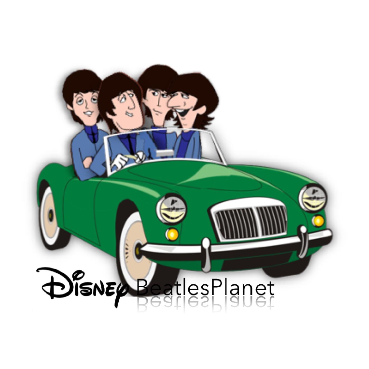 Beatles Cartoon On Behance Beatles Cartoon The Beatles Beatles Art