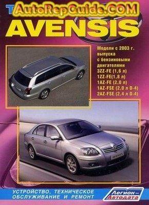 Download Free Toyota Avensis 2003 Repair Manual Image By Autorepguide Com Toyota Avensis Repair Manuals Toyota