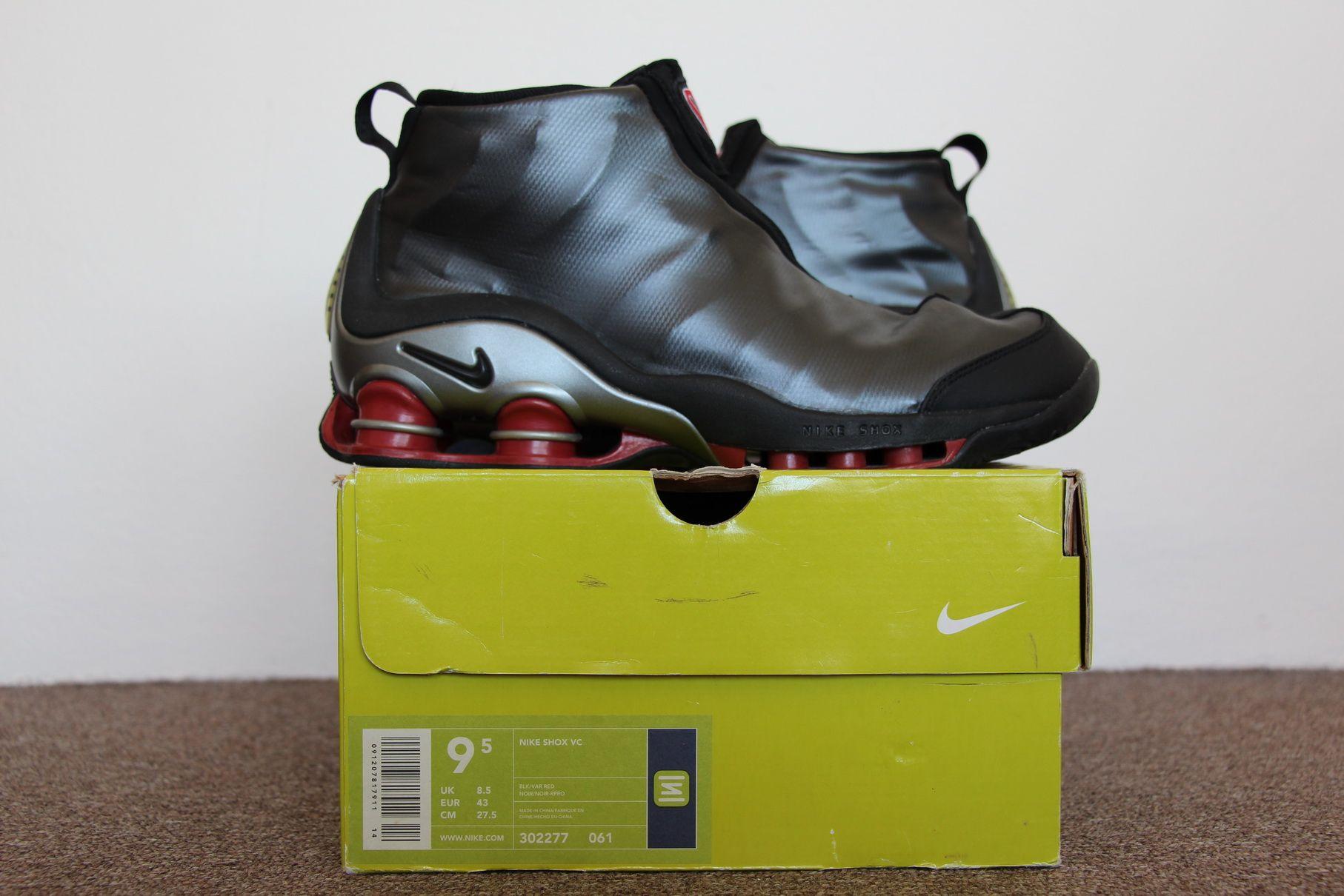 the best attitude 9254e d5ea8 Nike Shox Vince Carter 2001 (Black Varsity Red – Metallic-Silver)