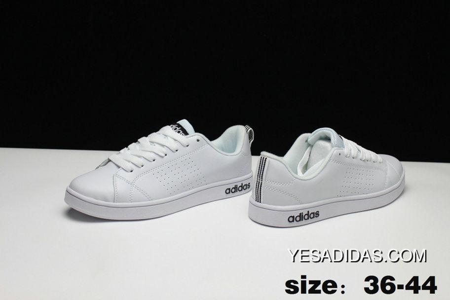 Adidas Lifestyle Shoes Black Black Advantage Clean Vs Mens