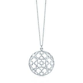 Tiffany legacy green tourmaline ring marrakesh sterling silver palomas marrakesh dome pendant in sterling silver aloadofball Image collections