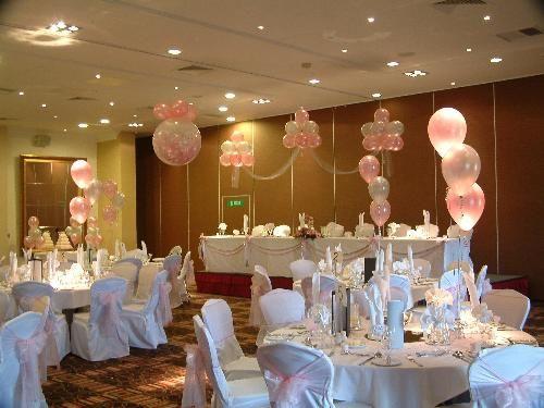 Wedding decorations wedding decorations balloon for Balloon decoration for wedding receptions
