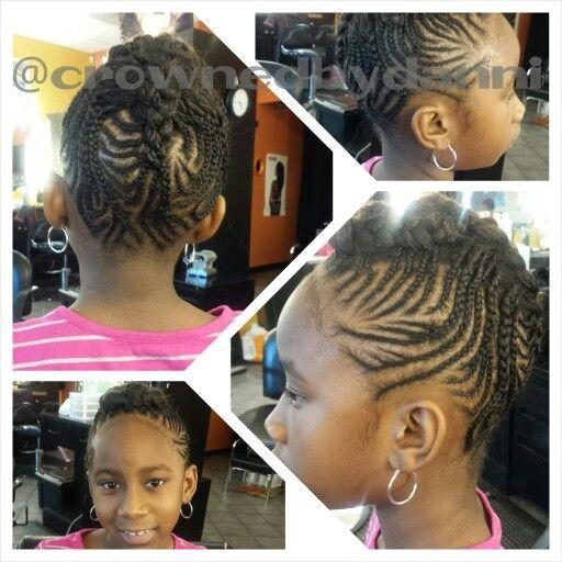 Mohawk braided updo #kidsbraidshairstyles #kidsstyles #kidshairstyles #charlottebraider #charlottenaturalstylist #charlottenaturalhairstylist #charlottebraider #braider #Crownedbydanni #kidsbraids #kidsbraidedupdos