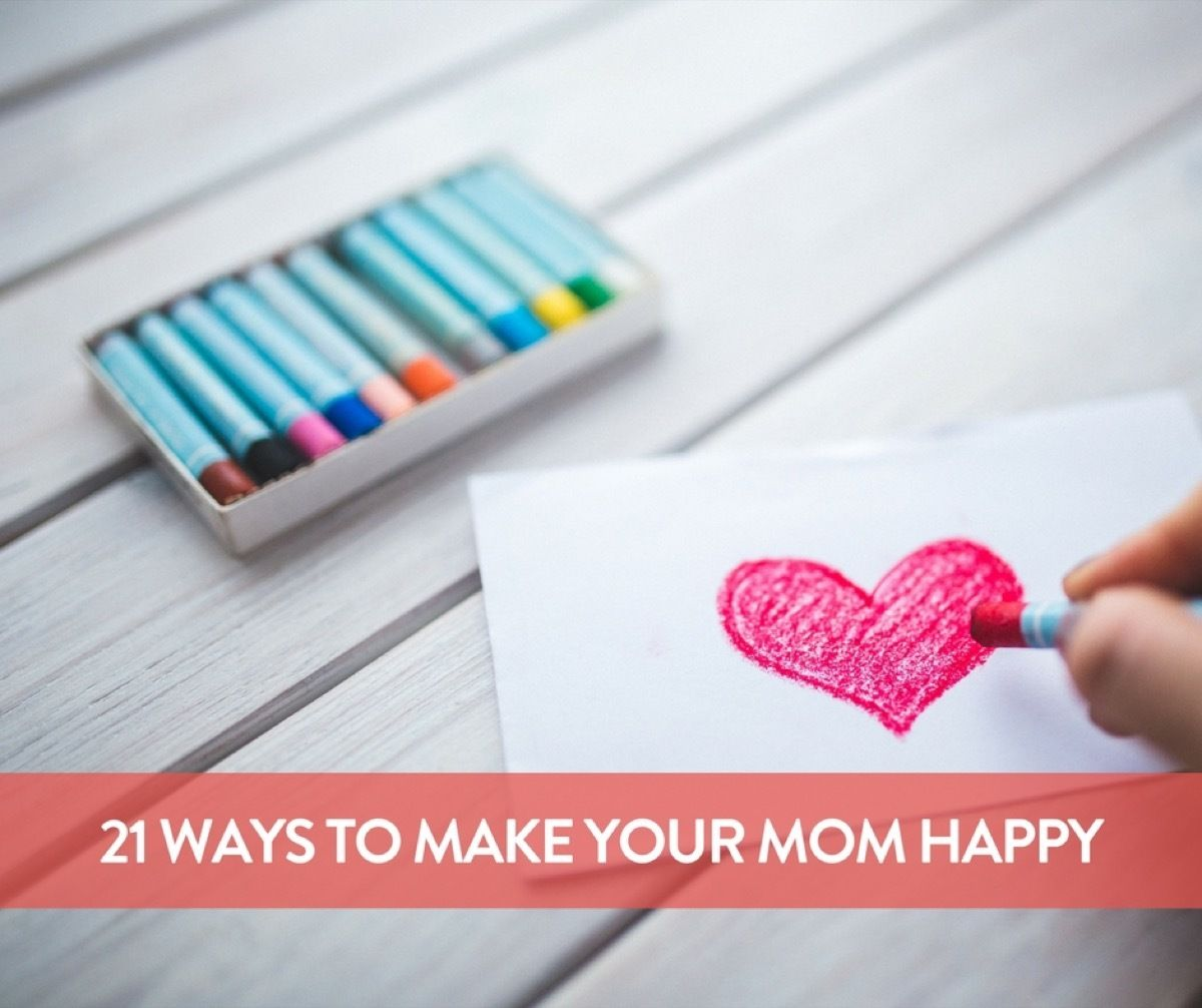 Make your mom the happiest woman on the planet with these sweet, touching, and mostly free Mother's Day gestures.