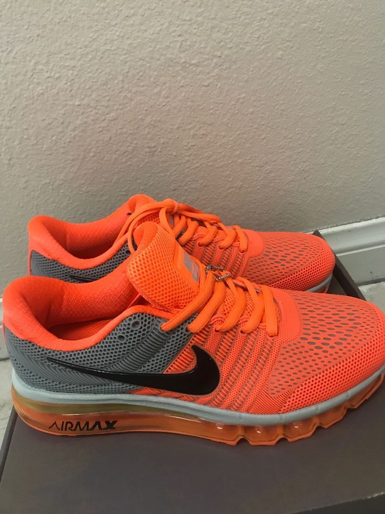 nike air max 2017 orange gray