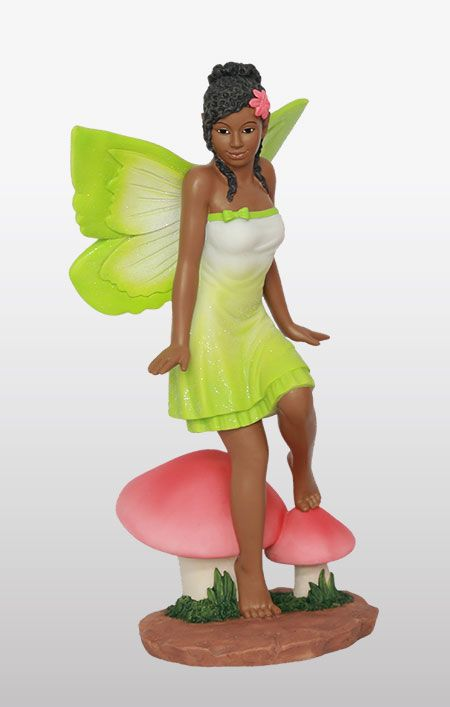 3496f60ce250d5e4606568994f9024a5 - African American Fairies For Fairy Gardens