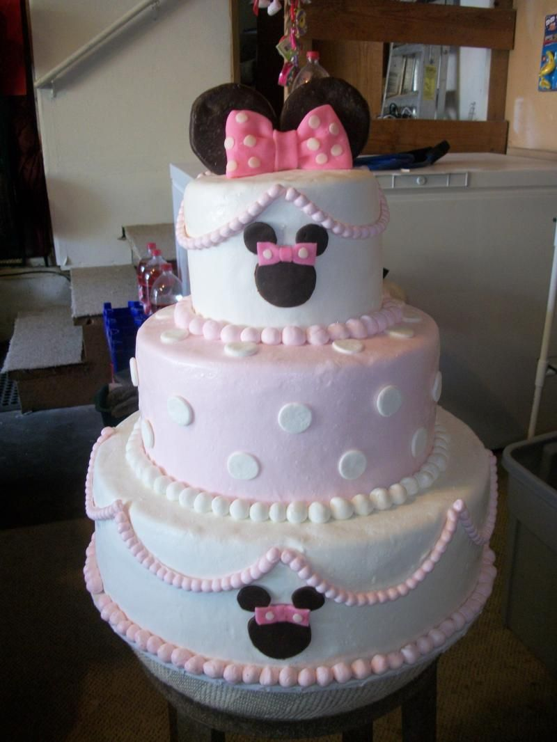 Pin by Kami Benson on Cakes Pinterest Minnie mouse