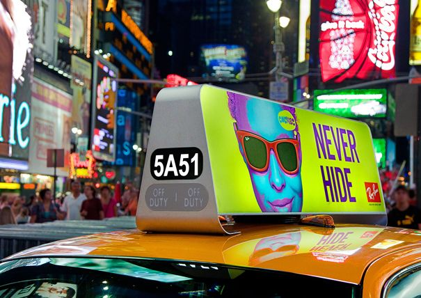 NYC's New Taxi Topper | Yanko Design
